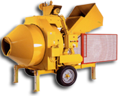 520 HYDRAULIC-MIXER WITH ENGINE